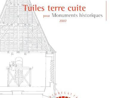 Guide Tuile terre cuite monuments historiques