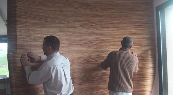 Le bois maroufler atrium construction for Placage bois en rouleau
