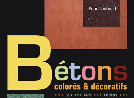 Bétons colorés & décoratifs