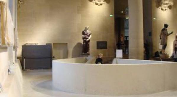 Rénovation des sols du Louvre