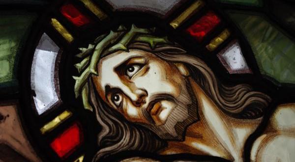 Vitrail Christ