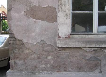 Photo désordre dans le bâtiment
