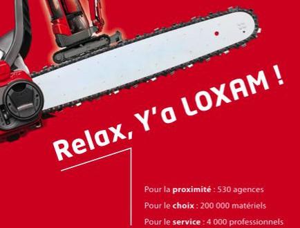 Campagne de communication Loxam