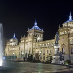 Les rivières de lumière, Valladolid, Espagne.