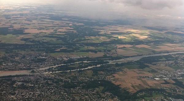 vue aérienne