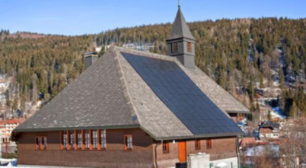 église protestante de Sankt Blasien