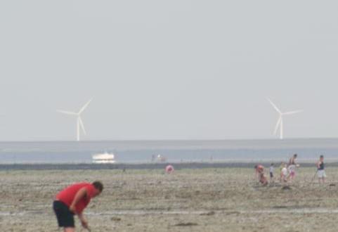 éoliennes du Mont Saint-Michel