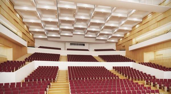 auditorium du Nouveau Siècle de Lille