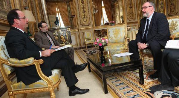 François Hollande - Patrick Liebus Capeb