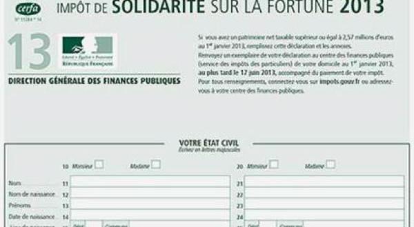Impôts sur la fortune