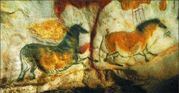 Dessin grotte de Lascaux