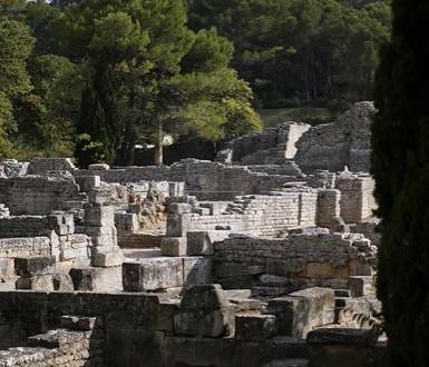 Ville gallo-romaine de Glanum à Saint-Rémy-de-Provence