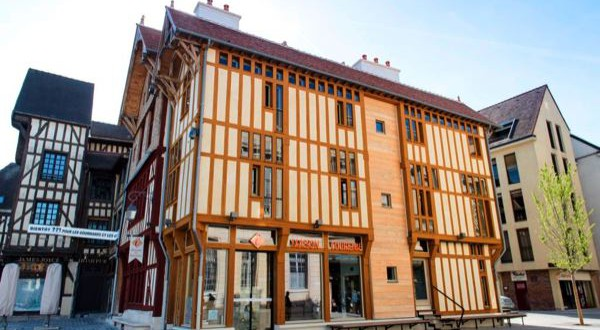 bâtiment du XVIème Troyes