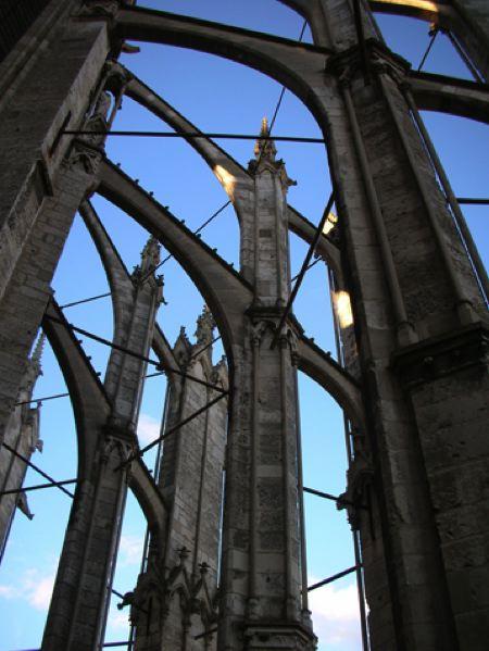 cathédrale gothique