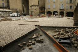 réaménagement de la place de Villefranche-de-Rouergue
