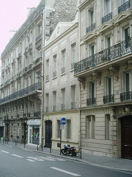 bâtiment parisien