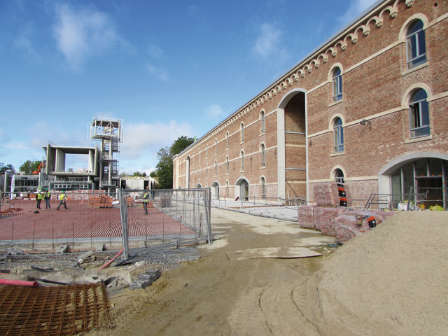 Au coeur du grand projet de d veloppement de la citadelle for Atrium coeur