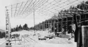 Le premier véritable atelier a été construit dans les années 60.