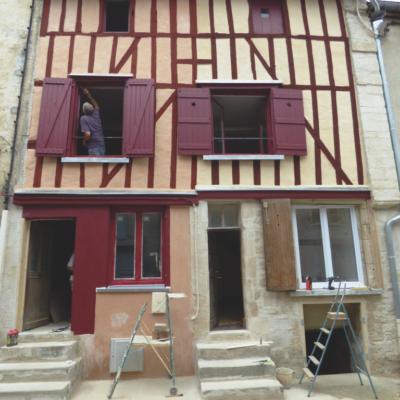 Maison rue des Royaux à Joinville (52) après.
