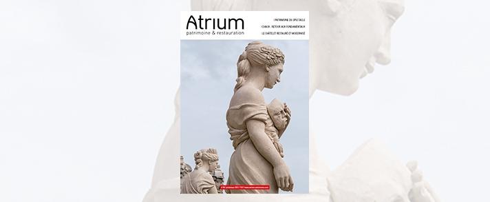 Découvrez le nouveau numéro d'Atrium